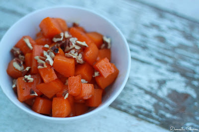 Domestic Charm: Roasted Butternut Squash with Brown Sugar ...