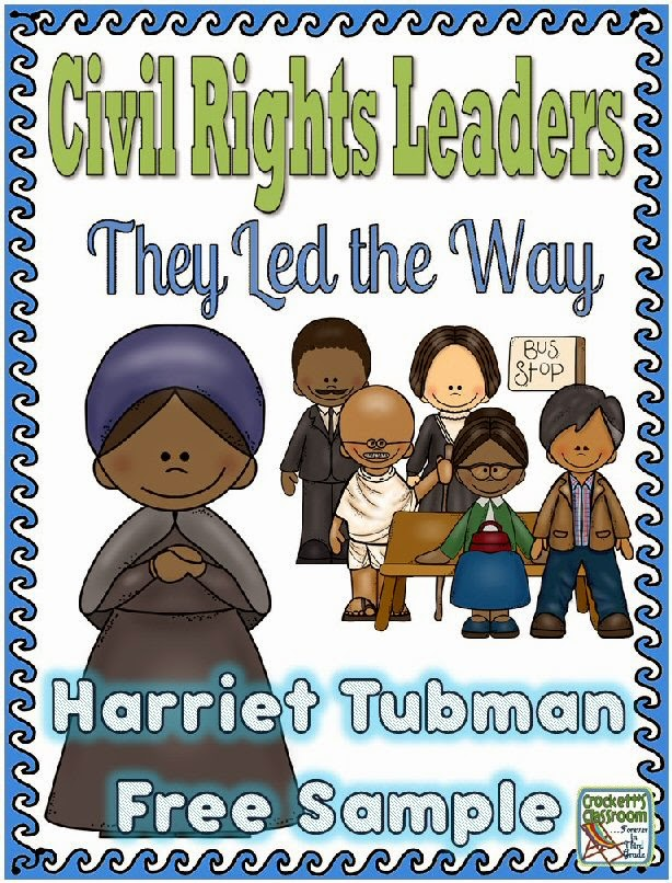 Harriet Tubman Freebie---Crockett's Classroom