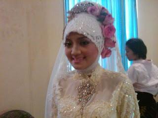 rias pengantin nani nazeh pengantin jilbab
