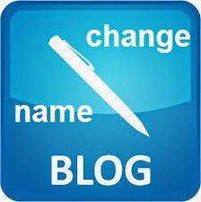Change Name Blog
