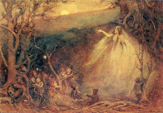 Queen Mab, by Henry Meynell Rheam
