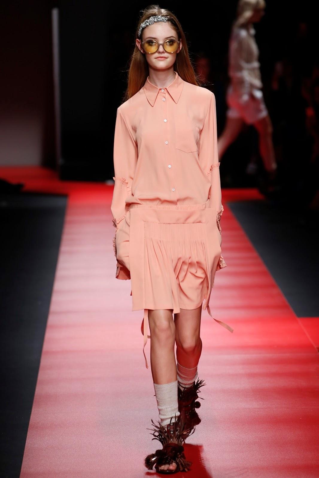milan fashion week spring 2016, look, catwalk, model