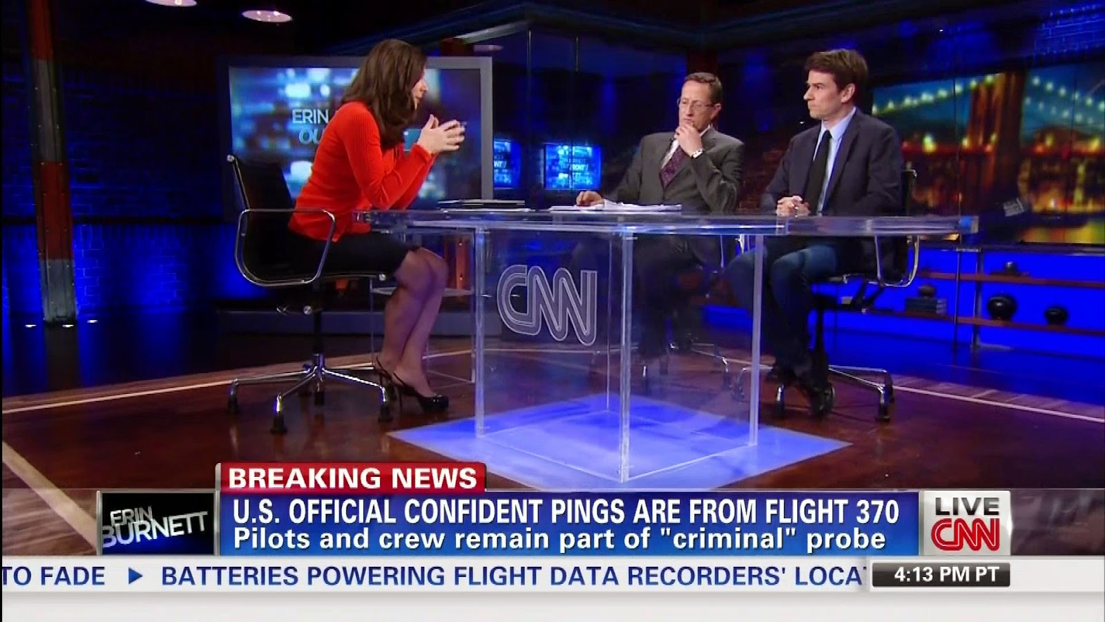 cnn Erin Burnett hot legs