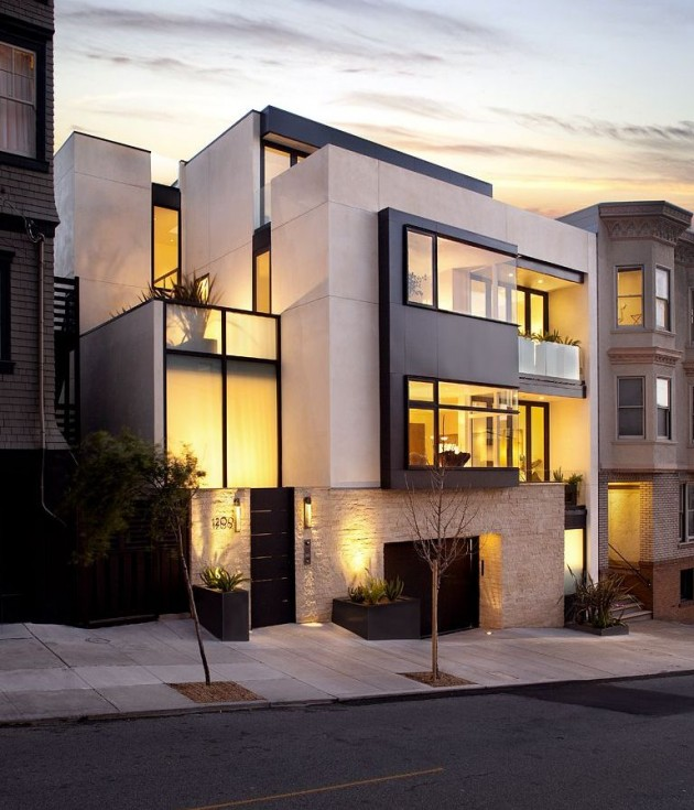 Modern Architecture San Francisco modern russian hill home in san francisco, california