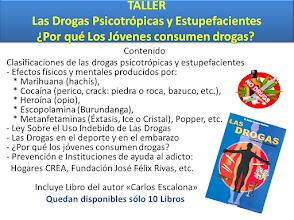 TALLER SOBRE LAS  DROGAS PSICOTRÓPICAS Y ESTUPEFACIENTES