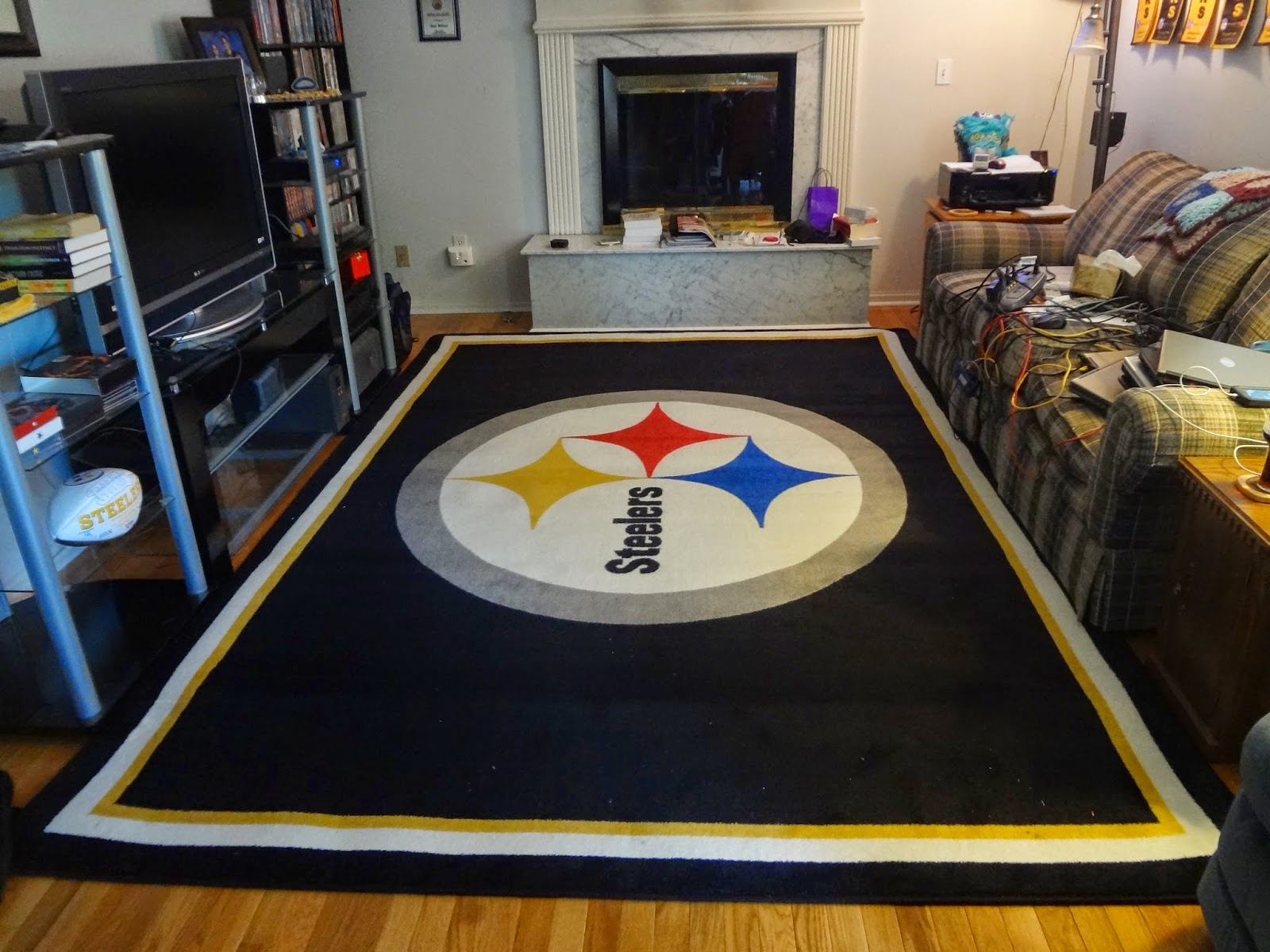 pittsburgh steelers area rug - rug designs