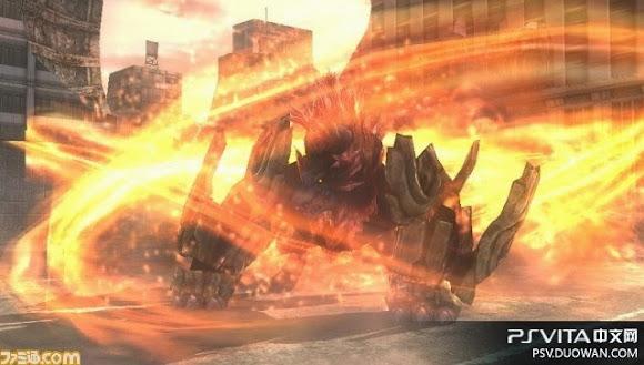 《噬神者2》新荒神焦熱餓狼 大量新必殺技截圖放出