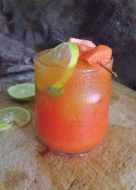 papaya mango juice5