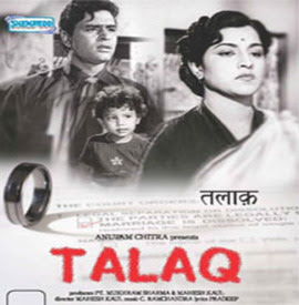 Talaq 1958 Hindi Movie Watch Online