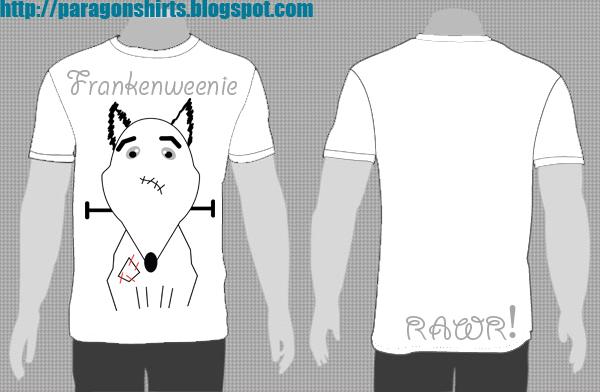 Frankenweenie Shirt Design Ideas
