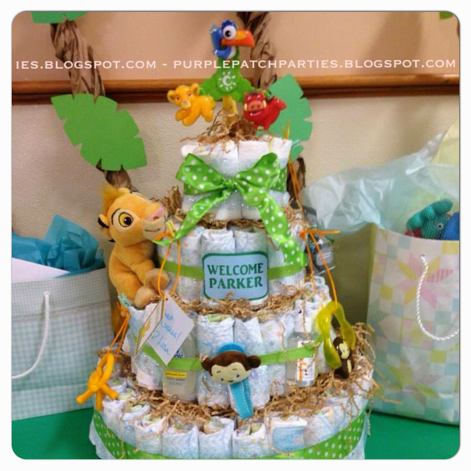 the purple patch lion king safari baby shower