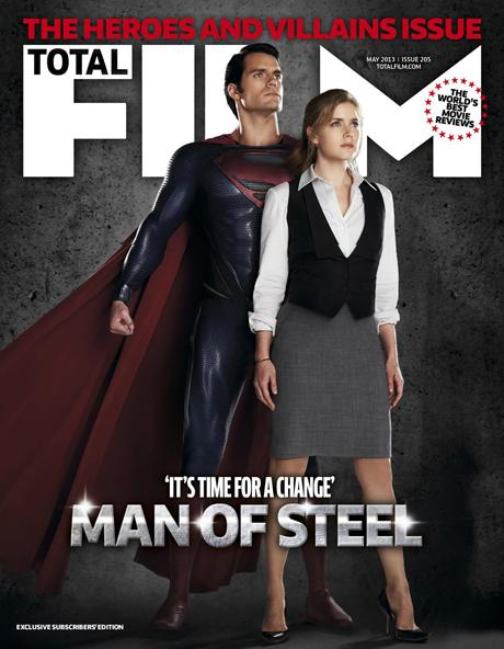 Man of Steel: portada de Total Films