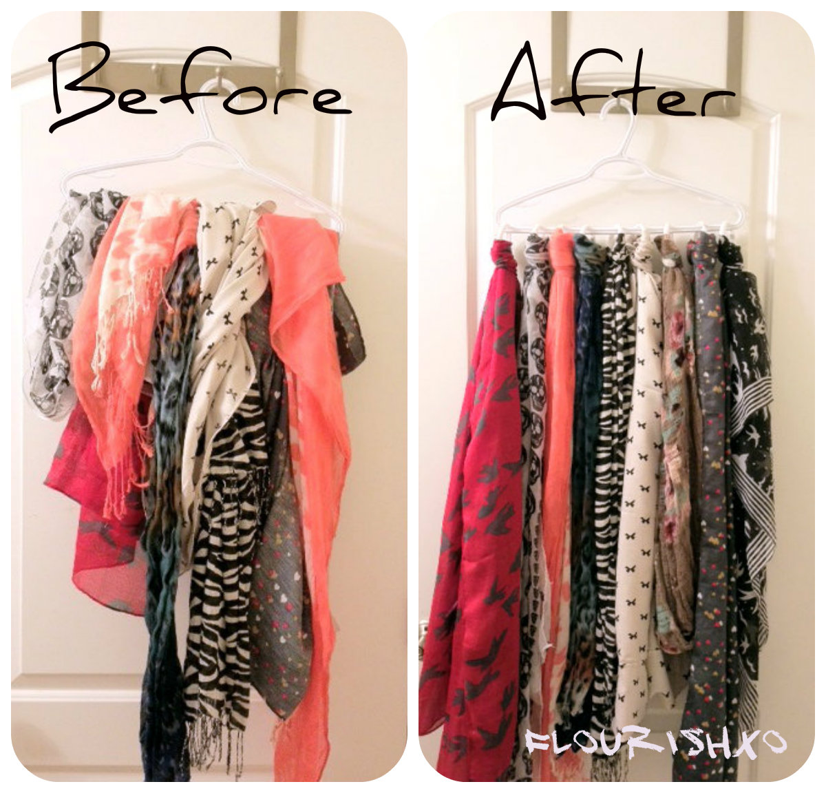 Diy Scarf Hanger Images - Reverse Search