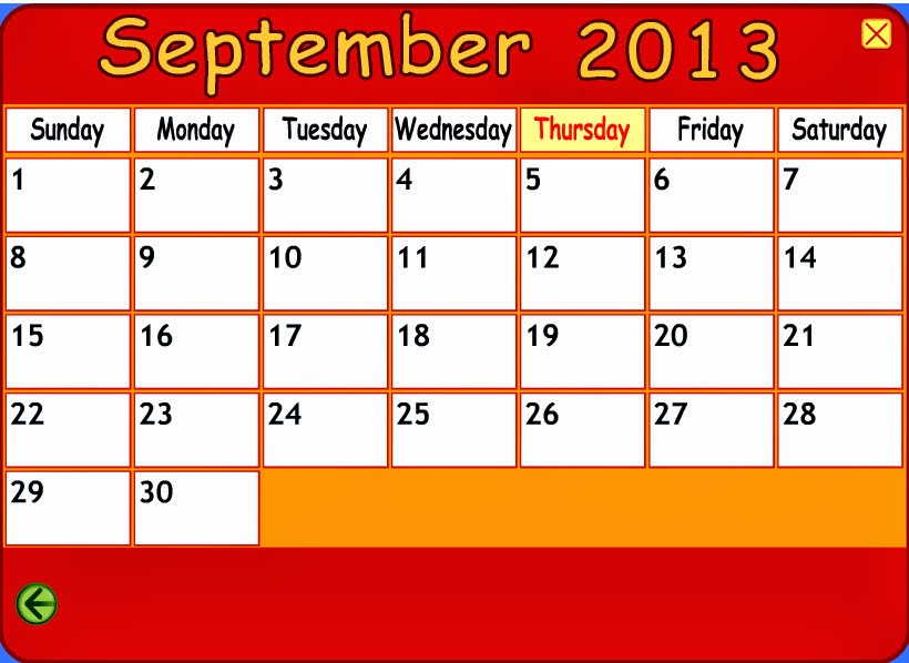 Starfall Calendar August | New Calendar Template Site