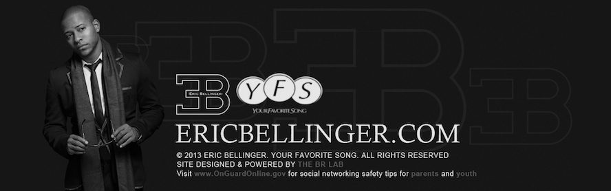 Eric Bellinger Official Blog Site