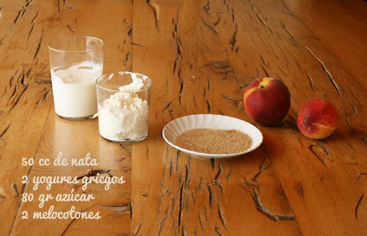 ingredientes-helado-yogur-melocoton-sin-huevo