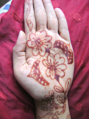 How to darken mehendi