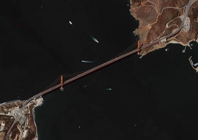 gambar-satelit-golden-gate-bridge