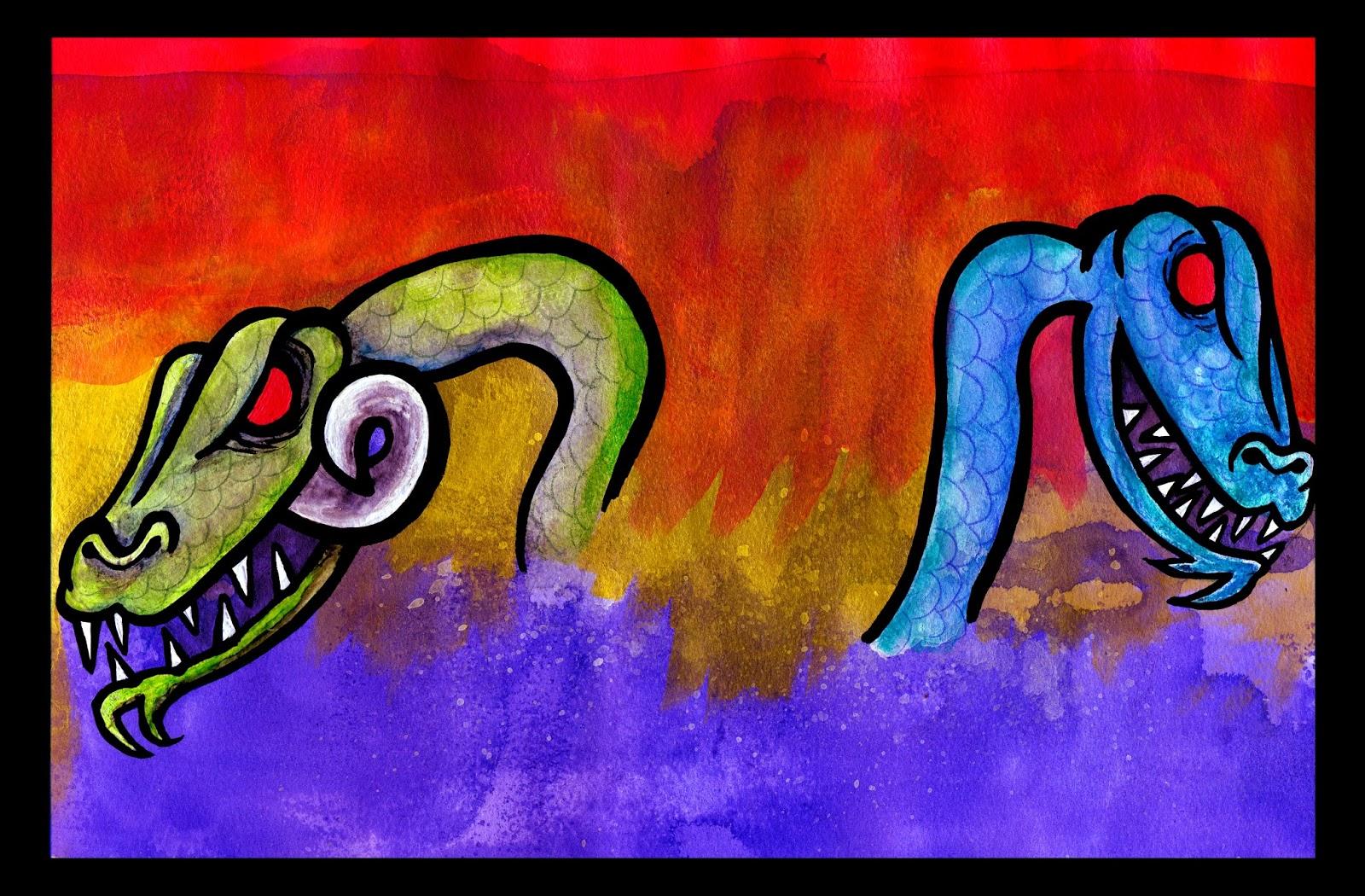 BsAs Desorden zine  Ruido e ideas Serpiente de 2 cabezas