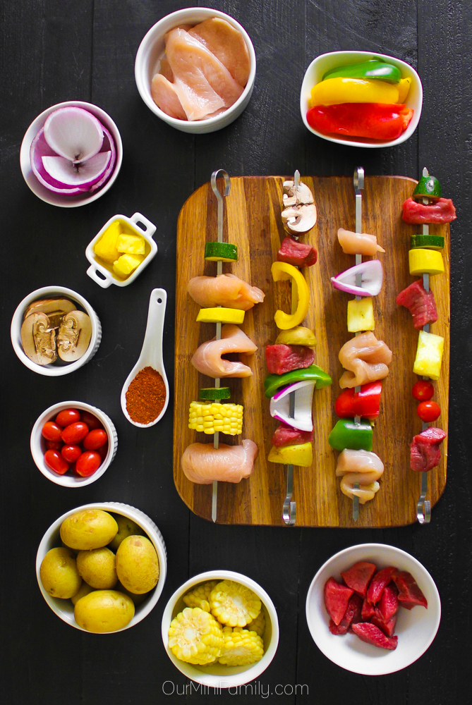 How to Host a Grilling Kabob Party