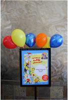 kidgits club dr. seuss celebration poster