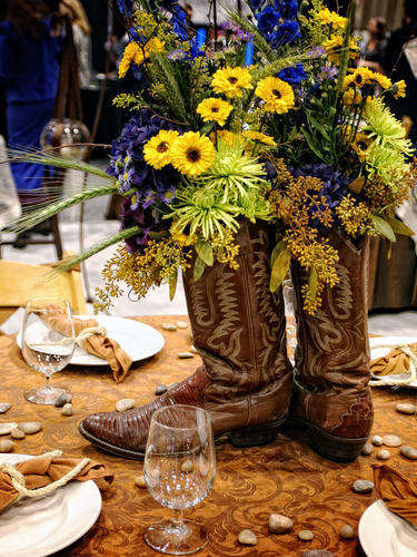 Western party centerpieces on pinterest