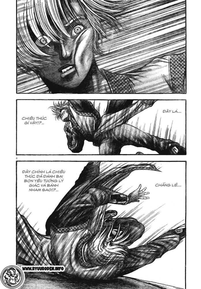 Chú Bé Rồng - Ryuuroden chap 181 - Trang 6
