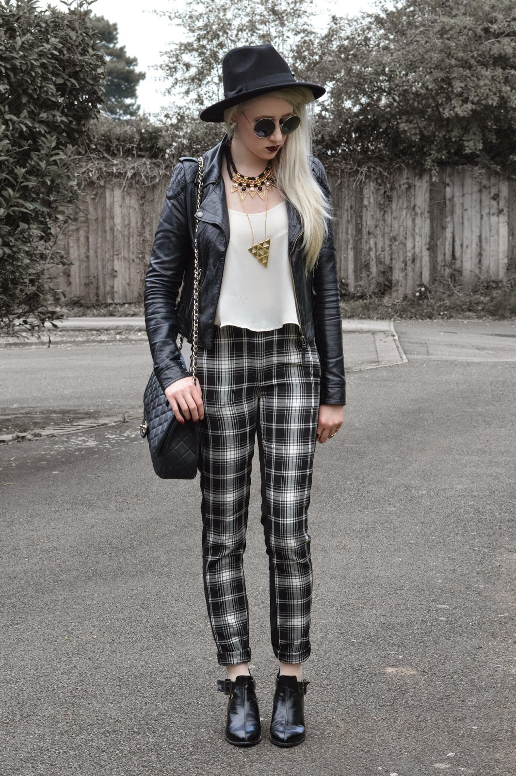 Sammi Jackson - Plaid Trousers