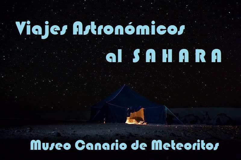 Viajes Astronómicos a Sáhara