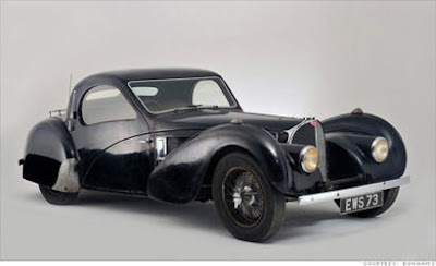 Rusty cars 1937 luxury Bugatti Type-57S great price