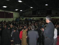 Reunión con Pastores y Obispos