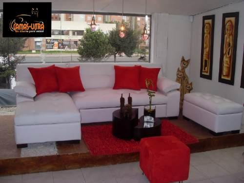 D k p muebles y decoracion salas for Juego de muebles para sala modernos
