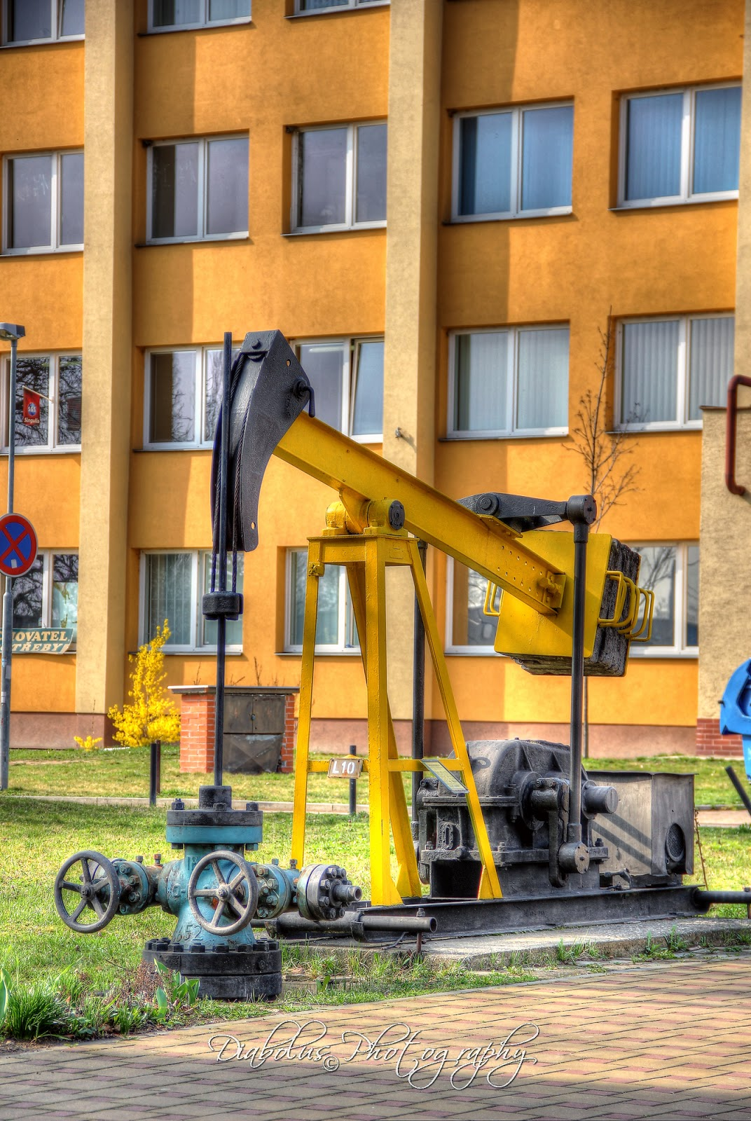 Naftařské čerpadlo (kozlík) - Naftařské muzeum Hodonín