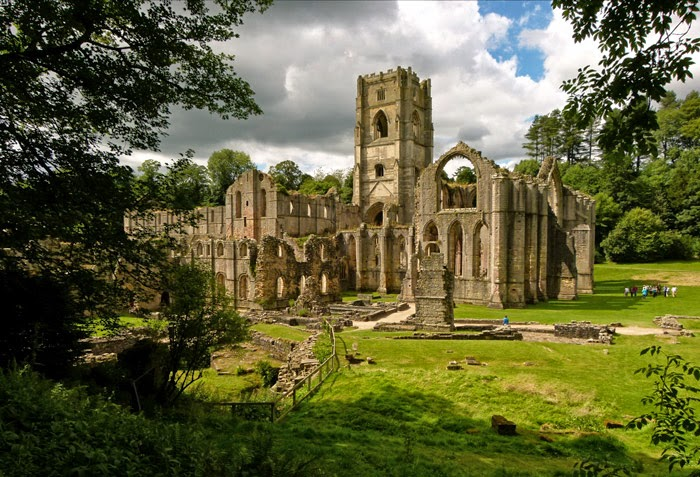 Fountains, Abbey, North Yorkshire