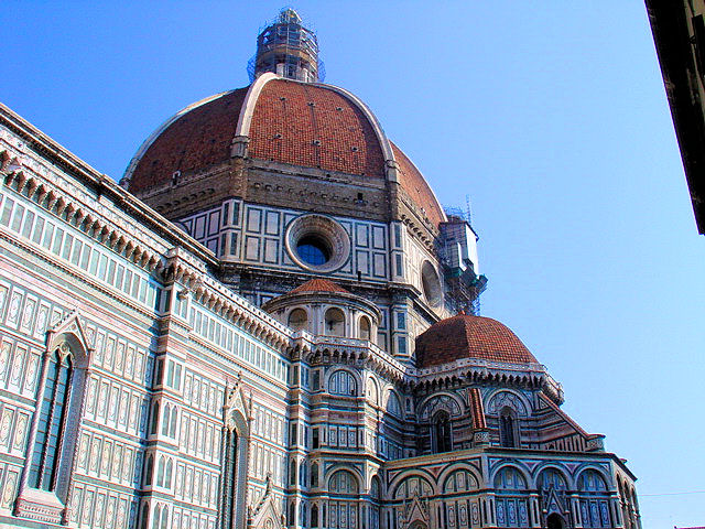 Brunelleshi's Dome within a Dome exemplified the Renaissance state of mind and groundbreaking in its design.