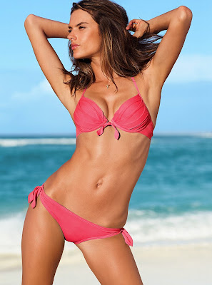 Alessandra Ambrosio still have sexiest bodies in Victorias Secret bikini