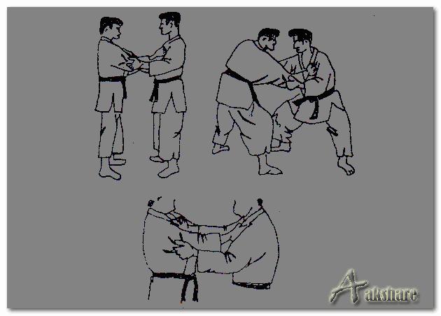 Teknik Dasar Pegangan Dalam Judo (Kumikata)