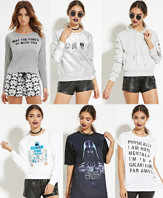 Star Wars x Forever 21 Clothing Collection