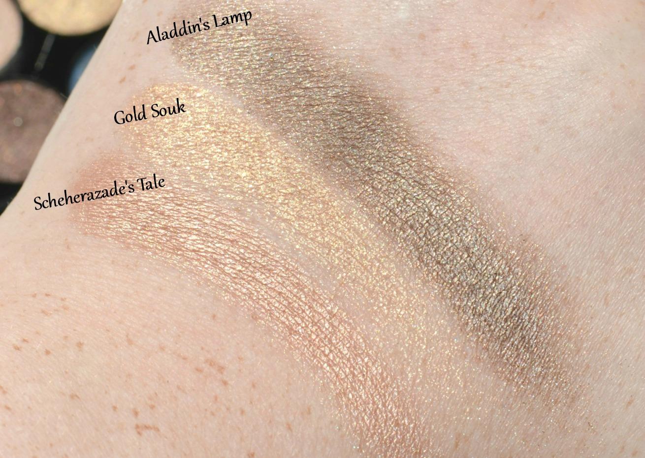 Sleek MakeUP Arabian Nights Smoke & Shadows Eyeshadow Palette Review & GIVEAWAY!