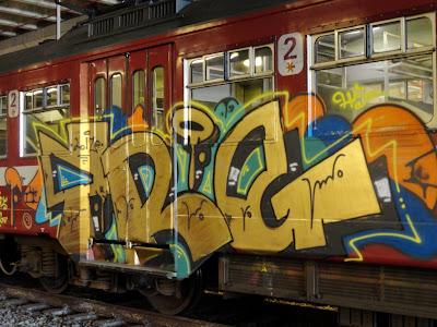HAIS TRG graffiti