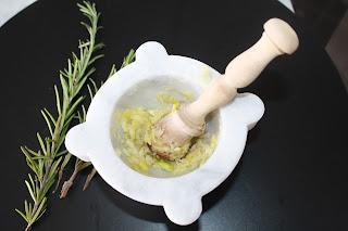 aglio e rosmarino