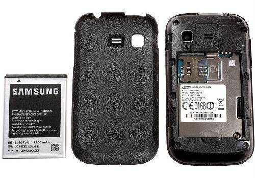unboxing battery life galaxy pocket samsung s5300