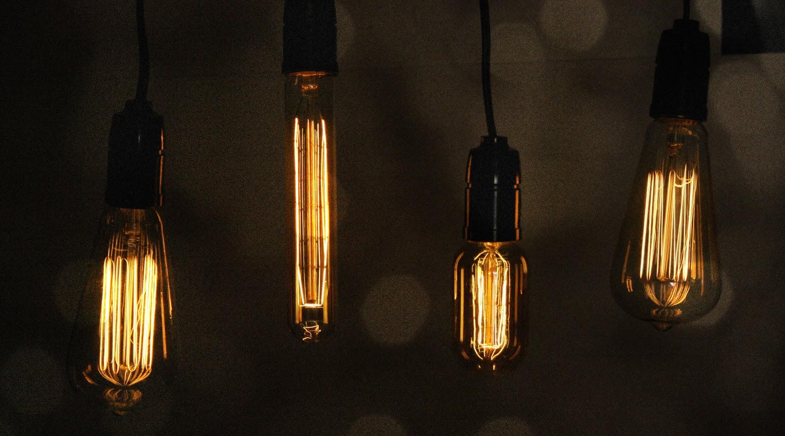 vintage light bulbs. Black Bedroom Furniture Sets. Home Design Ideas