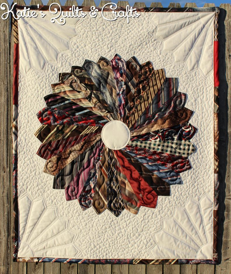 Katie S Quilts And Crafts Necktie Memory Quilts