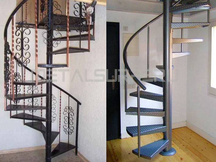 Fotos de escaleras de caracol interesting la escalera de - Escaleras caracol baratas ...