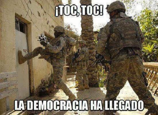 La democracia ha llegado