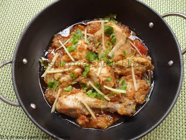 dhaba chicken karahi