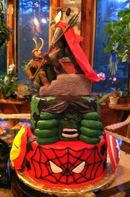 Amazing Avengers Cake