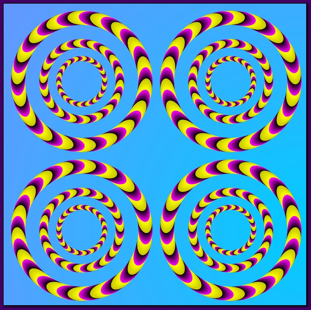 Moving Optical Illusions Pictures Magic