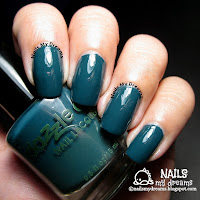 dazzle dry mythic teal swatch